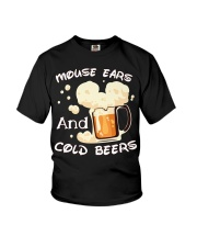 Mouse ears and cold beers  Youth T-Shirt thumbnail