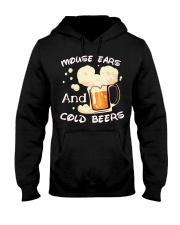 Mouse ears and cold beers  Hooded Sweatshirt thumbnail