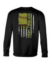 Softball mom Crewneck Sweatshirt thumbnail