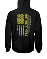 Softball mom Hooded Sweatshirt thumbnail