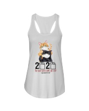Cat 2020 The Year When Shit Got Real  Ladies Flowy Tank thumbnail