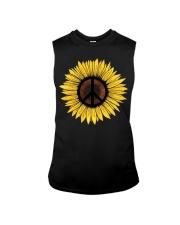 Hippie Sunflower Peace Sleeveless Tee thumbnail