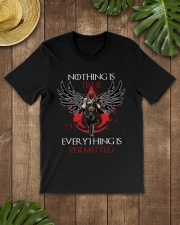Nothing is true everything is permitted Premium Fit Mens Tee lifestyle-mens-crewneck-front-18