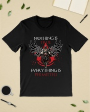 Nothing is true everything is permitted Premium Fit Mens Tee lifestyle-mens-crewneck-front-19