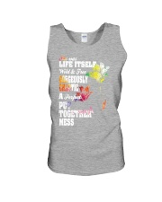 She was life itself wild and gorgeously Unisex Tank thumbnail