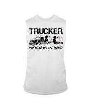 Trucker 2020 not quarantined  Sleeveless Tee thumbnail