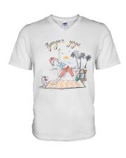 Iyengar yoga V-Neck T-Shirt thumbnail