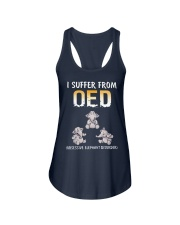 I Suffer From OED Obsessive Elephant Disorder Ladies Flowy Tank thumbnail