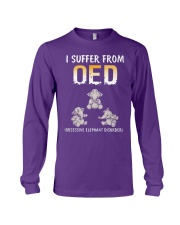 I Suffer From OED Obsessive Elephant Disorder Long Sleeve Tee thumbnail