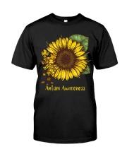 Sunflower autism awareness Classic T-Shirt thumbnail