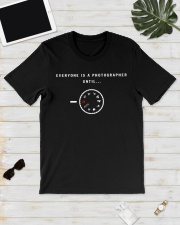 everyone is a photographer until Premium Fit Mens Tee lifestyle-mens-crewneck-front-17