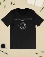 everyone is a photographer until Premium Fit Mens Tee lifestyle-mens-crewneck-front-19