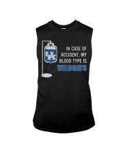 In case of accident my blood type is wildcats Sleeveless Tee tile