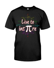 live to ins pi Premium Fit Mens Tee front