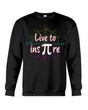 live to ins pi Crewneck Sweatshirt thumbnail
