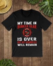 Firefighting my time in bunker gear is over Classic T-Shirt lifestyle-mens-crewneck-front-18