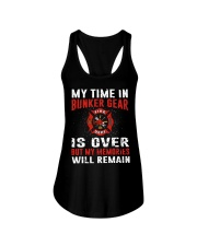 Firefighting my time in bunker gear is over Ladies Flowy Tank thumbnail