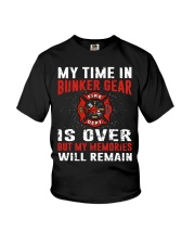 Firefighting my time in bunker gear is over Youth T-Shirt thumbnail