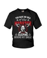 Heathen apparel you have no idea of the monster  Youth T-Shirt thumbnail