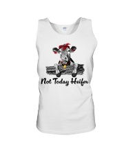 Cow not today heifer Unisex Tank thumbnail