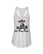 Cow not today heifer Ladies Flowy Tank thumbnail