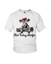 Cow not today heifer Youth T-Shirt thumbnail