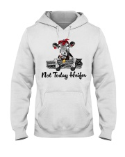 Cow not today heifer Hooded Sweatshirt thumbnail