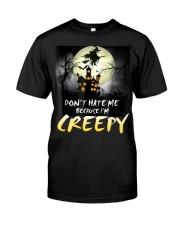 Halloween don't hate me because I'm creepy  Premium Fit Mens Tee thumbnail