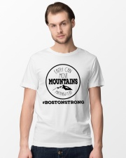 Faith can move mountains matthew 17:20  Classic T-Shirt lifestyle-mens-crewneck-front-15
