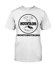 Faith can move mountains matthew 17:20  Premium Fit Mens Tee tile