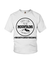 Faith can move mountains matthew 17:20  Youth T-Shirt tile