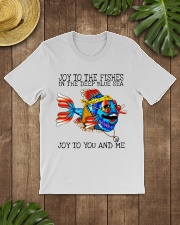 Joy to the fishes in the deep blue sea joy to you  Classic T-Shirt lifestyle-mens-crewneck-front-18