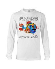 Joy to the fishes in the deep blue sea joy to you  Long Sleeve Tee thumbnail