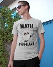Math is no prob-llama Classic T-Shirt apparel-classic-tshirt-lifestyle-17