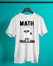 Math is no prob-llama Classic T-Shirt lifestyle-mens-crewneck-front-3