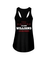 Team Williams lifetime member  Ladies Flowy Tank thumbnail