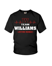Team Williams lifetime member  Youth T-Shirt thumbnail