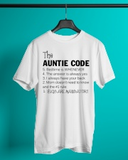 The auntie code Classic T-Shirt lifestyle-mens-crewneck-front-3