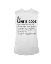 The auntie code Sleeveless Tee thumbnail