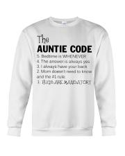 The auntie code Crewneck Sweatshirt thumbnail