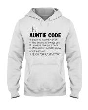 The auntie code Hooded Sweatshirt thumbnail