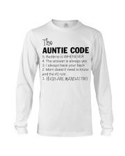The auntie code Long Sleeve Tee thumbnail