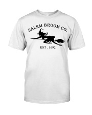 salem broom co est 1692 Classic T-Shirt front