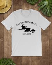 salem broom co est 1692 Classic T-Shirt lifestyle-mens-crewneck-front-18