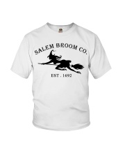 salem broom co est 1692 Youth T-Shirt thumbnail
