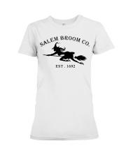 salem broom co est 1692 Premium Fit Ladies Tee thumbnail