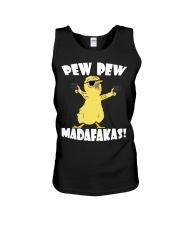Pew Pew Madafakas Crazy Chick Unisex Tank thumbnail