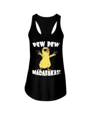 Pew Pew Madafakas Crazy Chick Ladies Flowy Tank thumbnail