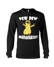 Pew Pew Madafakas Crazy Chick Long Sleeve Tee thumbnail