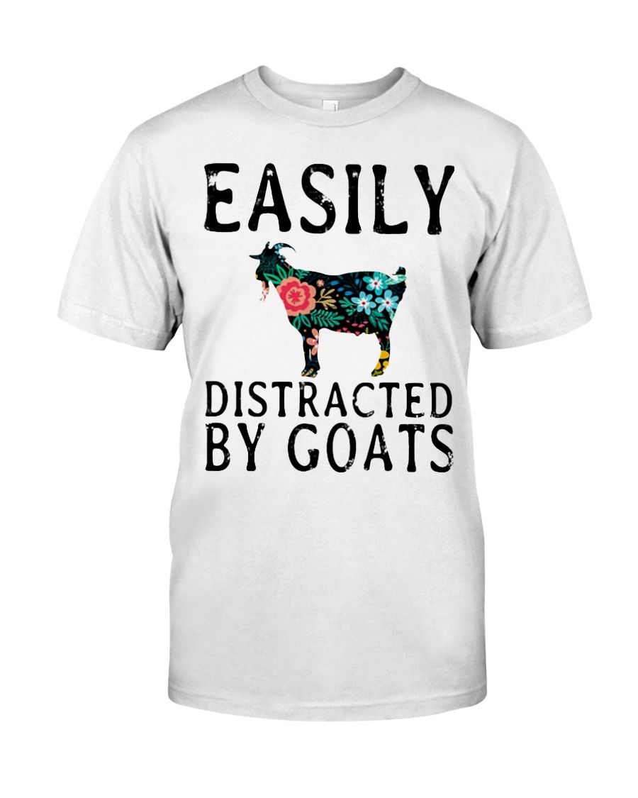Cow easily distracted by goats Classic T-Shirt